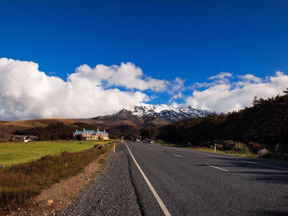 On the way to Tongariro