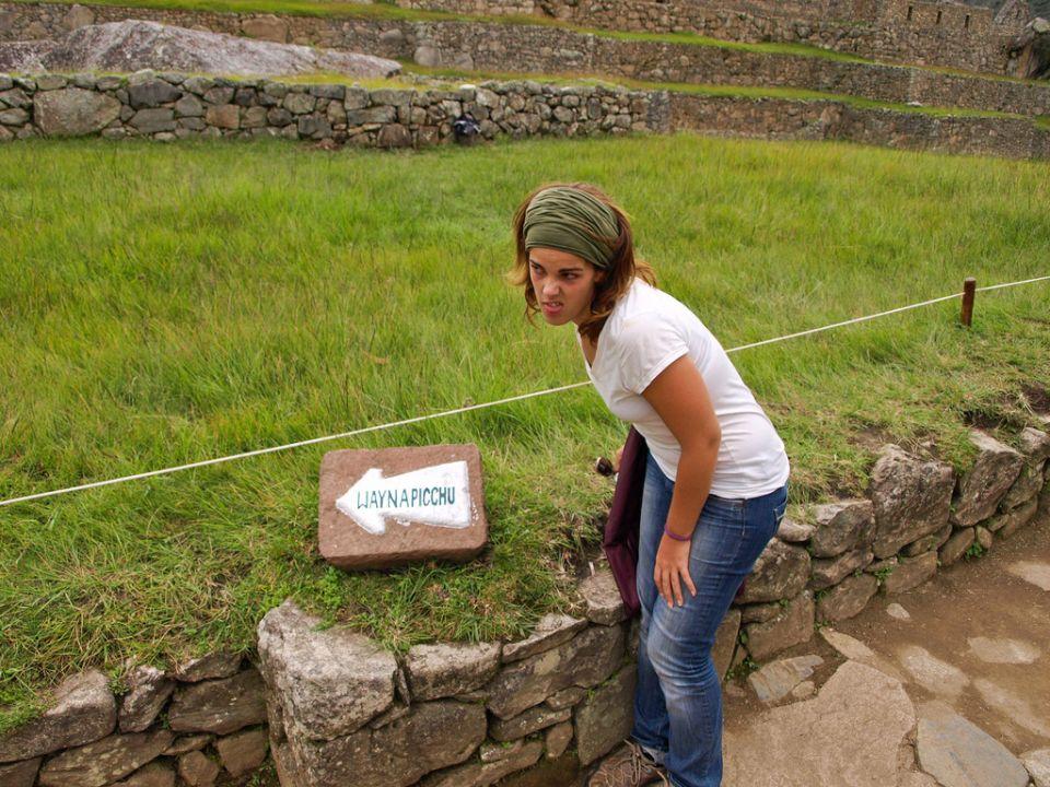 No, no más Huayna Picchu