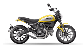 Rent Ducati Scrambler in Italy