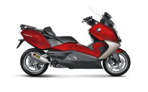 Rent BMW C650 in Italy