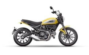 Rent Ducati Scrambler Ikon in Italy