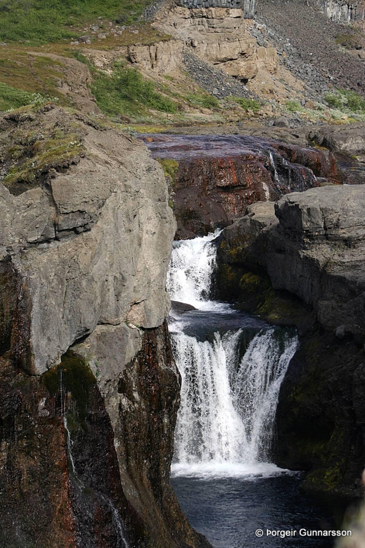 National Park Iceland Columnar Rock Formation Walking Tracks