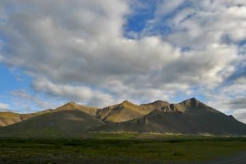 Hafnarfjall í Borgarfirði