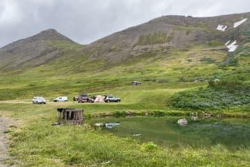 Siglufjordur camping ground