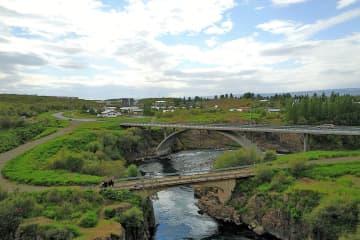 Eyvindará river