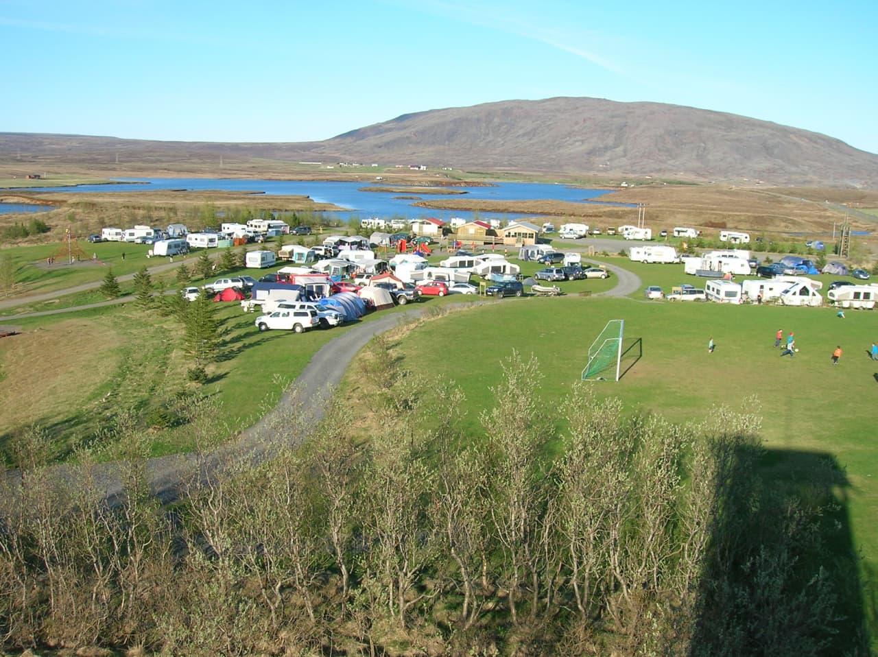 Úlfljótsvatn Iceland Campsite