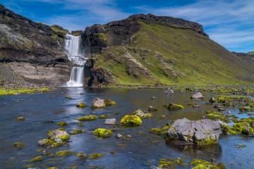 Ófærufoss waterfall - Nyrðri Ófæra river