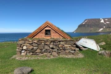 Fisherman's hut in Staðardalur