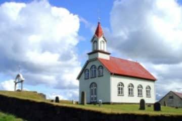 Hraungerdi church