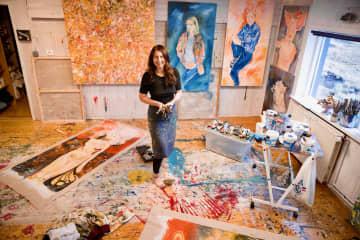 Michelle Bird Artist - Courage Creativity