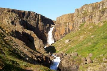 Fardagafoss Hiking Trail