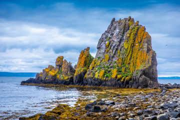 Ánastaðastapi Rock Formation
