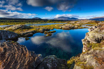 Thingvallavatn Lake