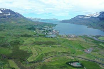 Golfvöllurinn á Reyðarfirði
