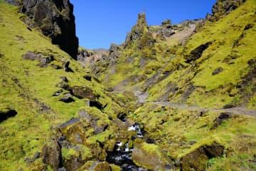 Höfðabrekkuheiði, Þakgil