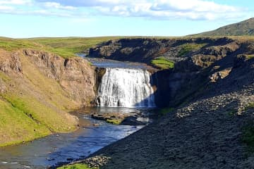 Þórufoss í Kjósarhreppi