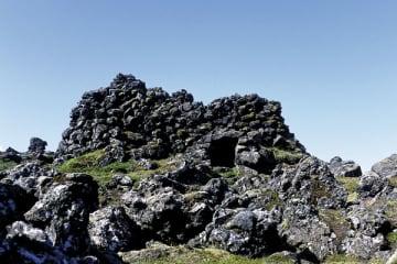 Fiskibyrgi við Gufuskála á Snæfellsnesi