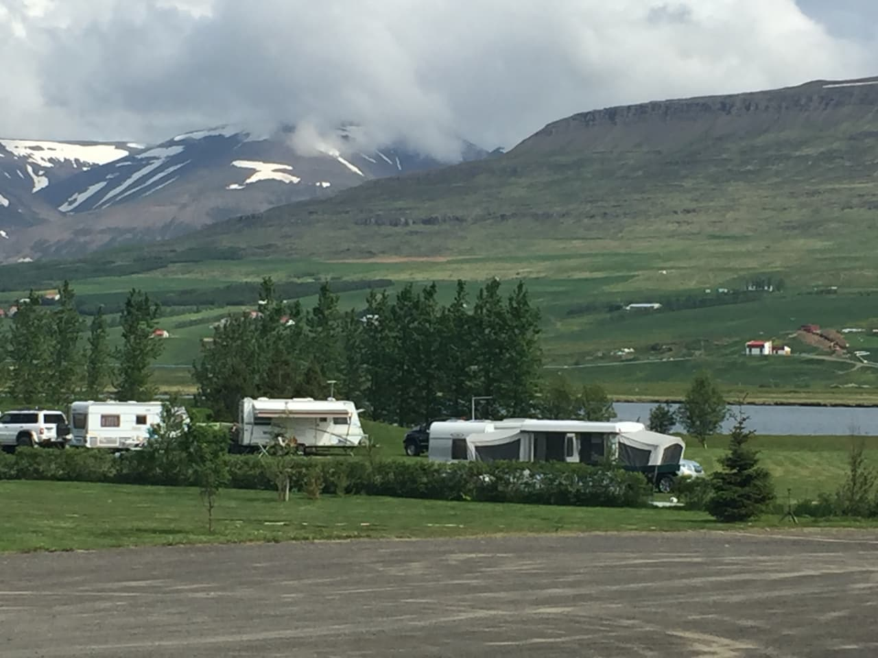 Hrafnagil Camping Site Visit North Iceland