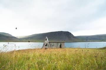 The A house in Fossfjörður