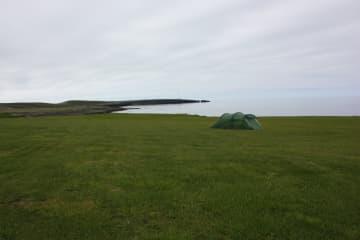 Camping 66.12° north