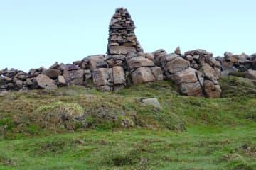 Grjótgarður við Hjarðarhaga