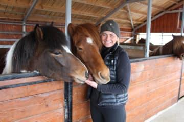 Sturlureykirhorses / Visiting HorseFarm