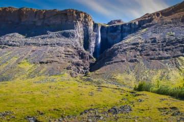Mígandi waterfall