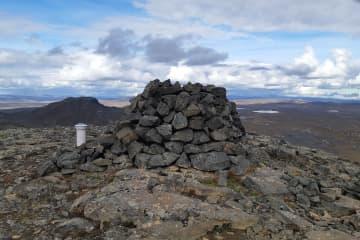 Eiríksstaðahneflar - gönguleið