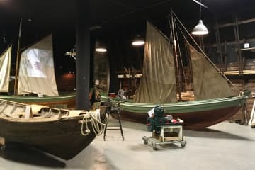Boat- and gift of nature exhibition Reykholar
