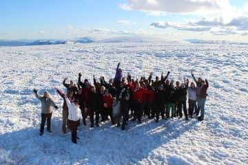 Langjokull Glacier in Borgarfjord