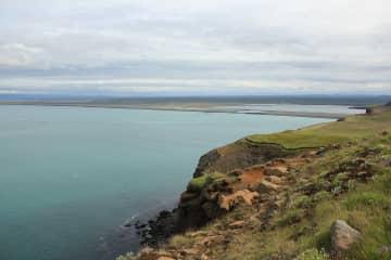 Hringsbjarg Cliff