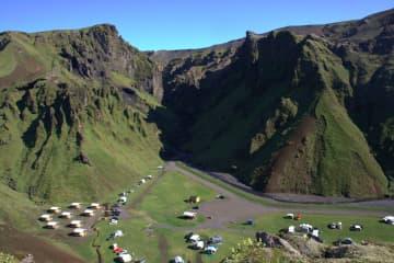 Tjaldsvæðið Þakgil