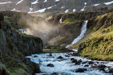 Fjallkonustígur hiking trail