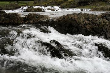 Tröllafossar í Borgarfirði