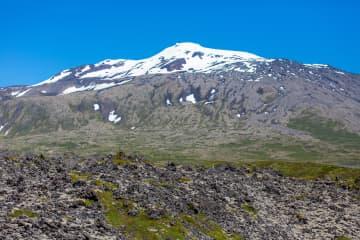 Snaefellsjökull National Park in Snaefellsnes