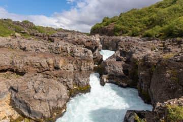 Barnafoss í Borgarfirði