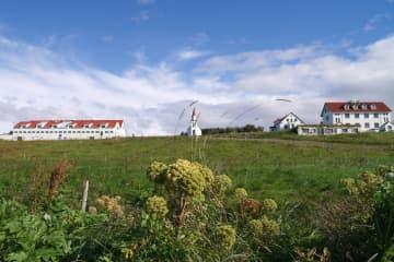 Hvanneyri in Borgarfjord