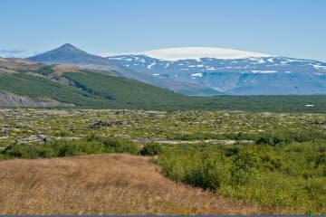 Eiríksjökull í Borgarfirði