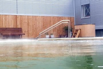 Lýsulaugar - geothermal bath
