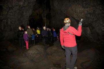 Vatnshellir Cave in Snaefellsnes peninsula