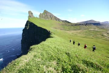 Hornbjarg og Haelavikurbjarg