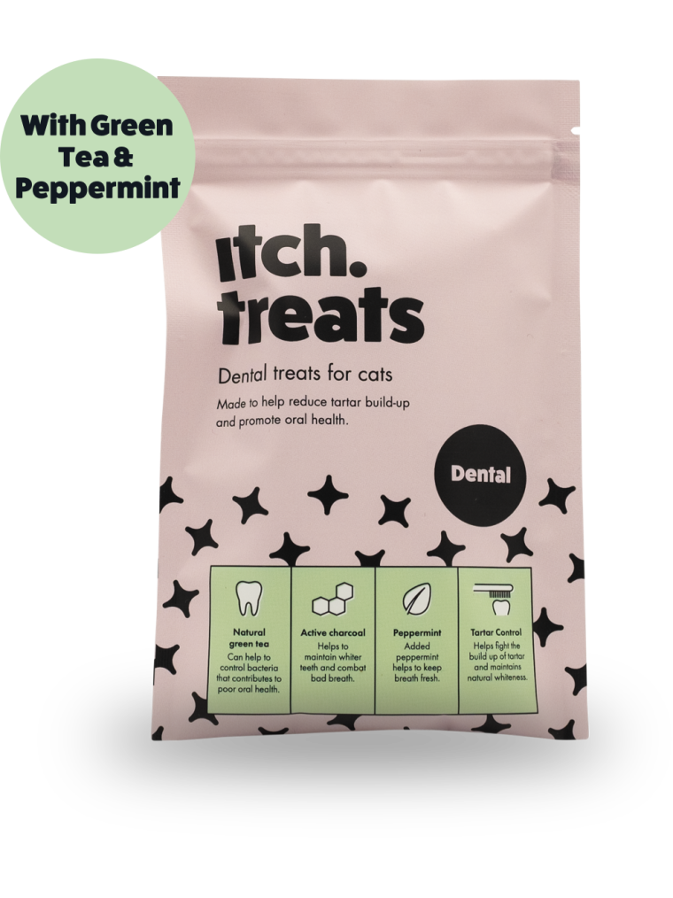 Itch Dental Treats for Cats