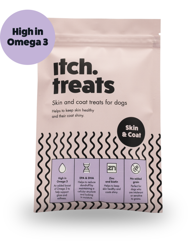Itch Skin & Coat Treats for Dogs
