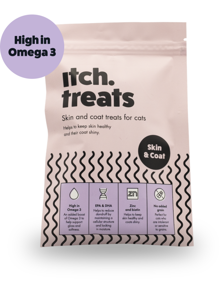 Itch Skin & Coat Treats for Cats