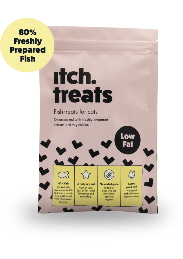 Itch Low Fat Treats for Cats