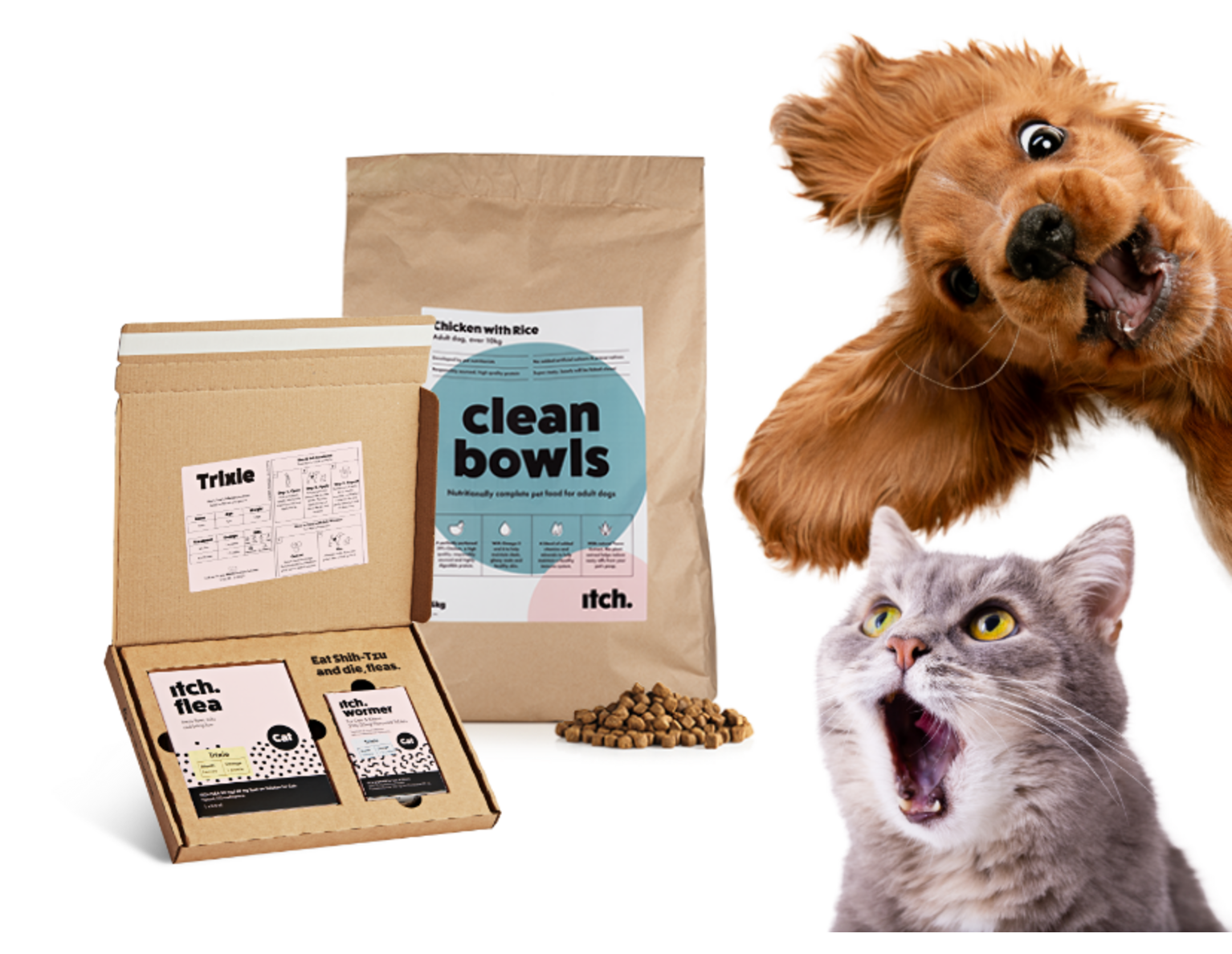 Flea treatment for dogs and cats