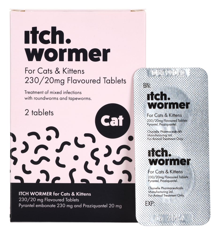 Itch worm for cats