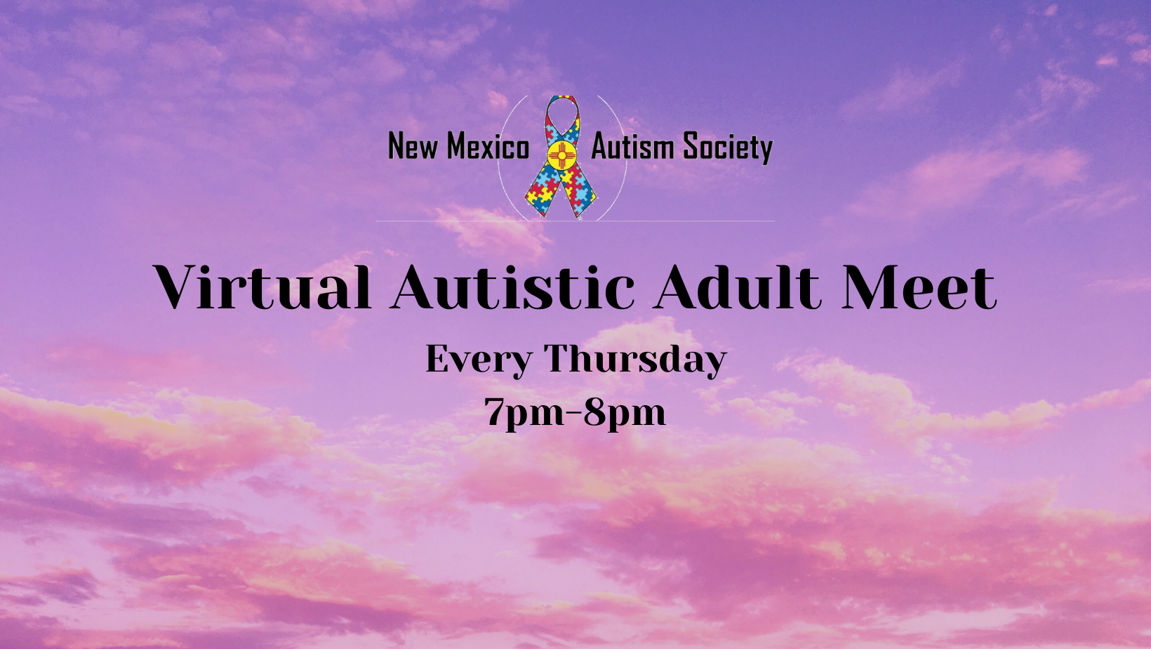 Virtual Autistic Adult Meet Image