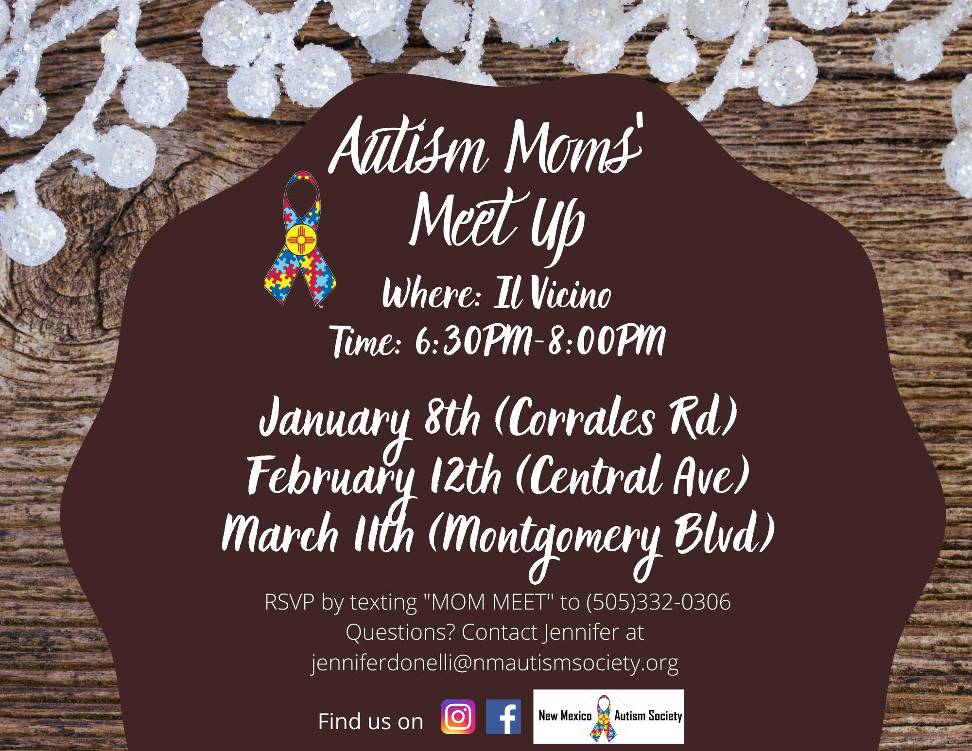 Autism Moms' Meet Up Image