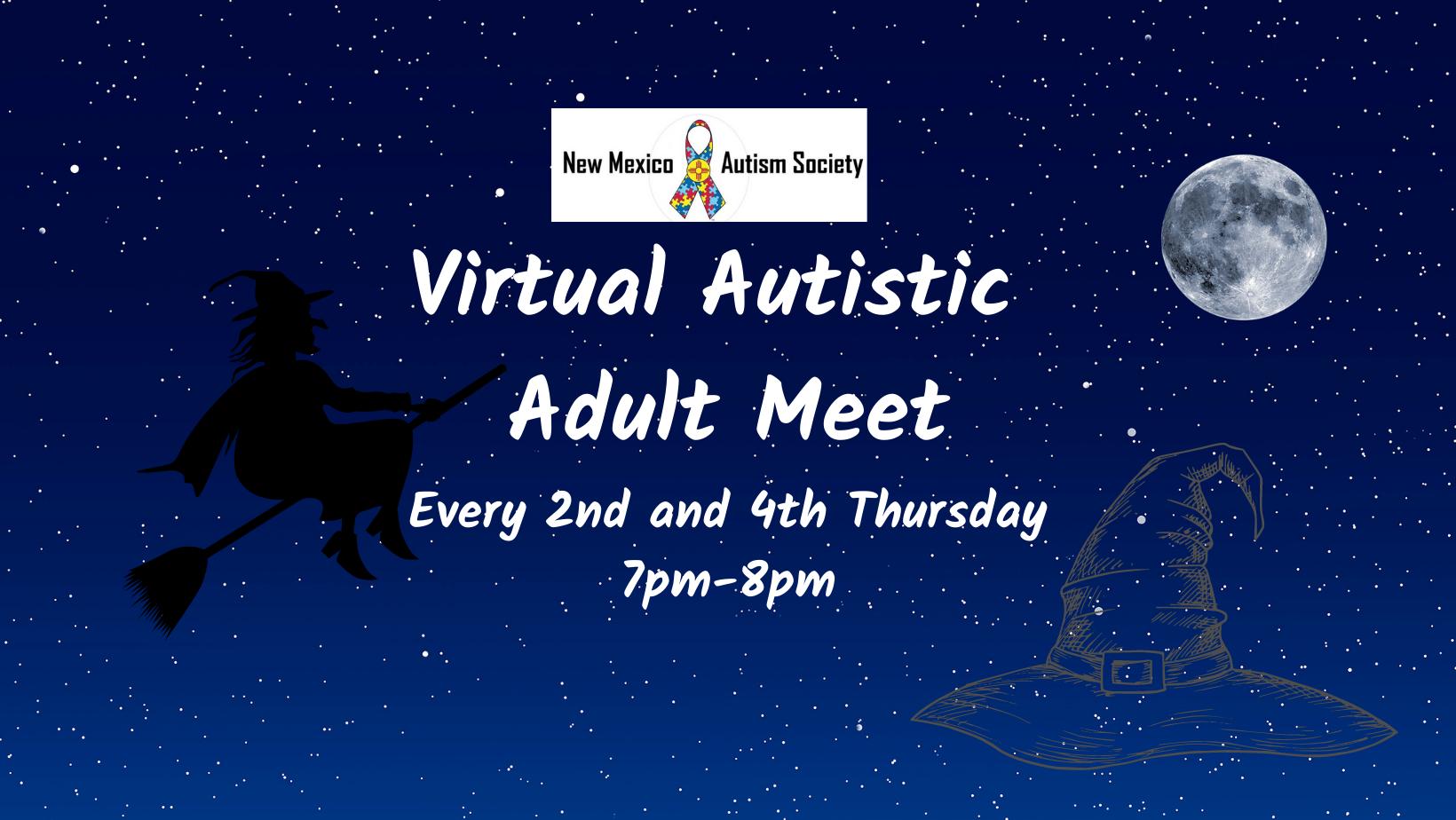 Virtual Autistic Adult Meeting Image